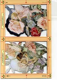 Poesiebilder Blume - Feen IV