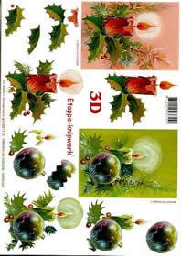 3D Bogen Weihnachtsfeier - Format A4