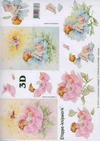 3D Bogen Rosenkind - Format A4