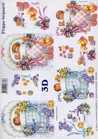 3D Bogen Babys - Format A4