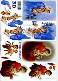 3D Bogen Maria Josef + Art - Format A4