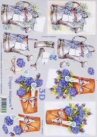 3D Bogen Gießkanne - Format A4