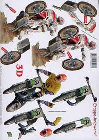 3D Bogen - Moto-cross Format A4