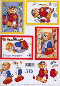 3D Bogen B?r mit Sporttasche - Format A4