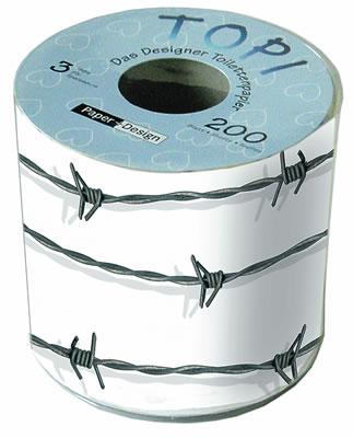 Toilettenpapier - Topi Stacheldraht