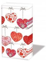 Taschentücher Hearts On Wire
