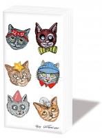 Taschentücher - Funny Cats
