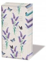 Taschentücher - Lavender With Love Cream