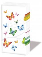 Taschentücher - Colourful Butterflies