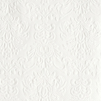 Servietten 25x25 cm - Elegance White
