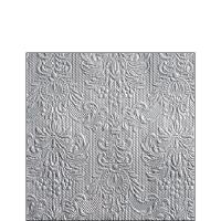 Servietten 25x25 cm - Elegance Silver