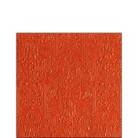 Servietten 25x25 cm - Elegance Orange