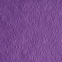 Servietten 25x25 cm - Elegance Purple