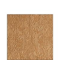 Servietten 25x25 cm - Elegance Bronze