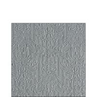 Servietten 25x25 cm - Eleganz Grau