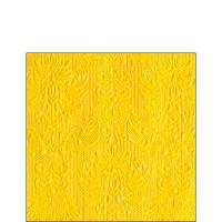 Servietten 25x25 cm - Elegance Yellow