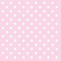 Servietten 25x25 cm - Pastel Dots Rose