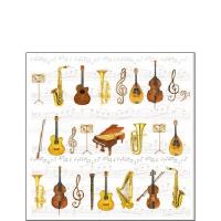 Servietten 25x25 cm - Orchestra