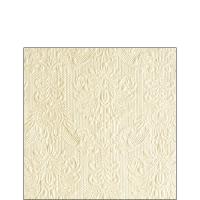 Servietten 25x25 cm - Elegance Pearl Cream