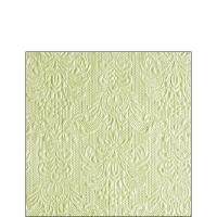 Servietten 25x25 cm - Elegance Pearl Green