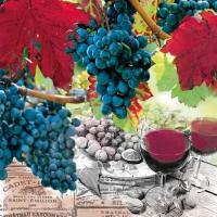 Servietten 25x25 cm - Wine