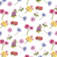 Servietten 25x25 cm - Flower Festival