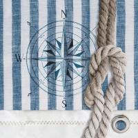 Servietten 25x25 cm - Kompass und Seil