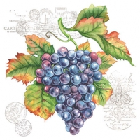 Servietten 25x25 cm - Grape Vine