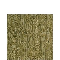 Servietten 25x25 cm - Elegance Olive Green