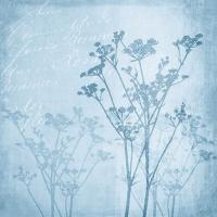 Servietten 25x25 cm - Floral Harmony Blue
