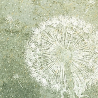Servietten 25x25 cm - Dandelion Green