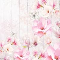 Servietten 25x25 cm - Magnolia Garden
