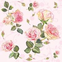 Servietten 25x25 cm - Rosie Rose