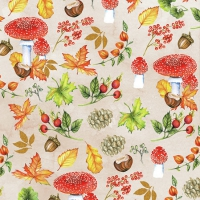Servietten 25x25 cm - Autumn Pattern