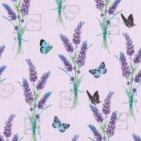 Servietten 25x25 cm - Lavender With Love Lilac