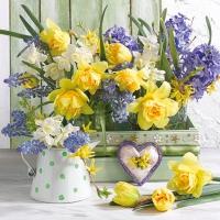 Servietten 25x25 cm - Mix Of Flowers