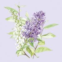 Servietten 25x25 cm - Lilac Lila