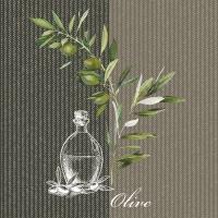 Servietten 25x25 cm - Oil And Olives