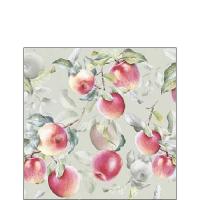 Servietten 25x25 cm - Fresh Apples Green