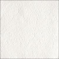 Servietten 33x33 cm - Elegance White
