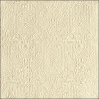Servietten 33x33 cm - Elegance Cream