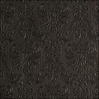 Servietten 33x33 cm - Elegance Black