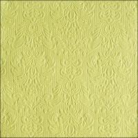 Servietten 33x33 cm - Elegance Light Green