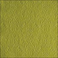 Servietten 33x33 cm - Elegance Green