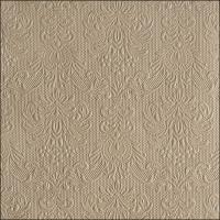 Servietten 33x33 cm - Elegance Taupe