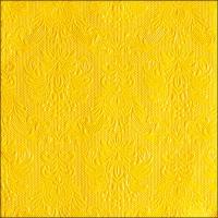 Servietten 33x33 cm - Elegance Yellow
