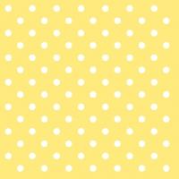 Servietten 33x33 cm - Punkte Gelb