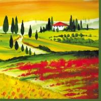 Servietten 33x33 cm - Toscana