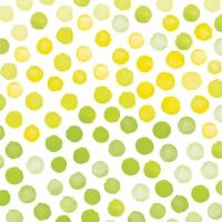 Servietten 33x33 cm - Fantasy Green/Yellow