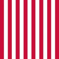 Servietten 33x33 cm - Stripes Red